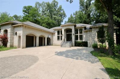West Bloomfield Twp Single Family Home For Sale: 6932 Willow Road