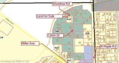 Ann Arbor Residential Lots & Land For Sale: V/L Woodrow Street