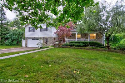 Grand Blanc Single Family Home For Sale: 408 Woodbridge Drive