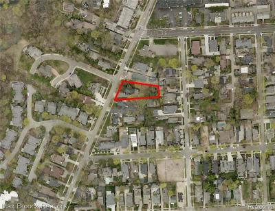 Birmingham Residential Lots & Land For Sale: 583 Southfield Lot 1 Road