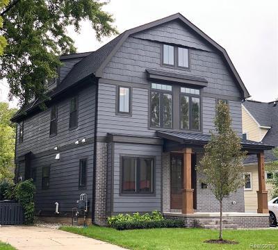 Birmingham Single Family Home For Sale: 1975 Cole Street