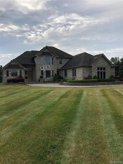 Bruce Twp Single Family Home For Sale: 72092 Fisher Road