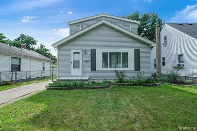 Hazel Park Single Family Home For Sale: 23393 Stauber Avenue