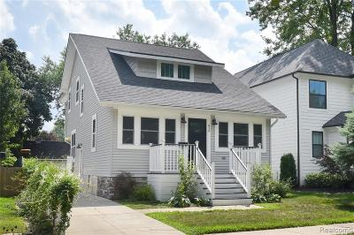 Royal Oak Single Family Home For Sale: 416 Forest Avenue