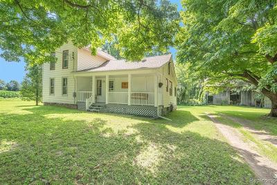Single Family Home For Sale: 4615 Bruff Road
