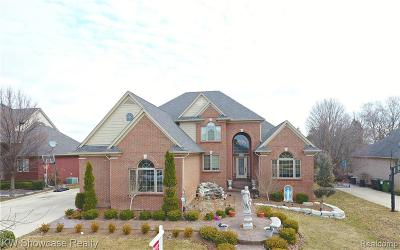 Shelby Twp Single Family Home For Sale: 56502 Edgewood Drive