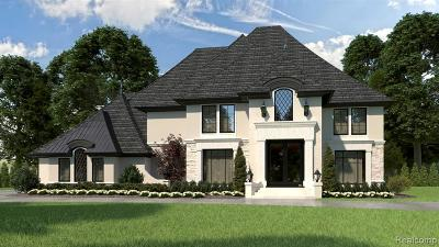 Bloomfield Hills Single Family Home For Sale: 502 Chase Lane