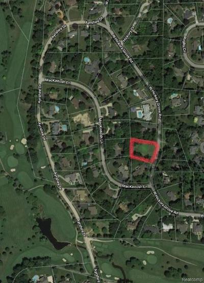 Bloomfield Twp Residential Lots & Land For Sale: 2780 W Hickory Grove Road
