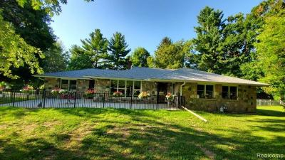 Single Family Home For Sale: 3028 North Branch Road