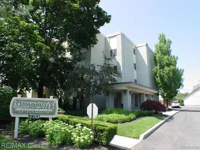 Canton, Plymouth Condo/Townhouse For Sale: 770 Deer Street #401