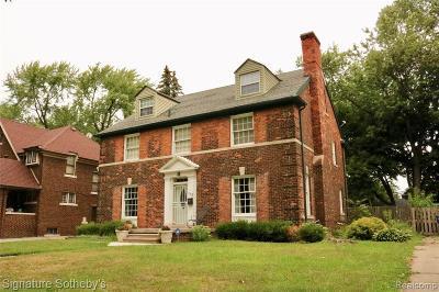 Detroit Single Family Home For Sale: 348 Lakewood Street