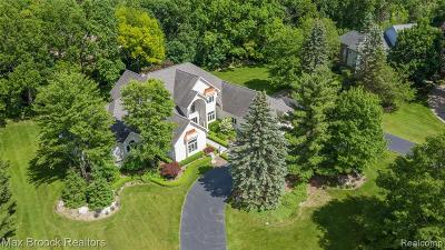 Rochester Single Family Home For Sale: 1970 Oak Pointe Drive