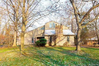 Single Family Home For Sale: 9168 Bellevue Road