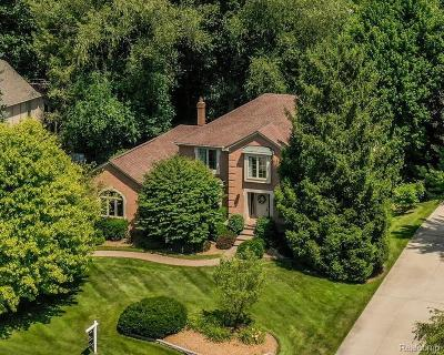 Bloomfield Twp Single Family Home For Sale: 2795 Hunters Bluff