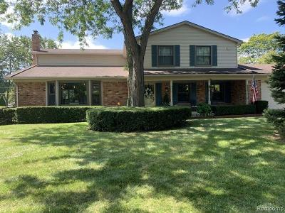 Troy Single Family Home For Sale: 4191 Brandywyne Drive