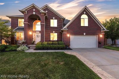 Macomb Twp Single Family Home For Sale: 49509 Galway Drive