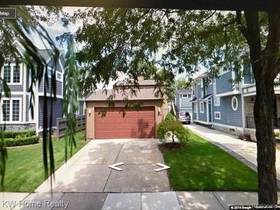 Birmingham Single Family Home For Sale: 1641 Webster Street