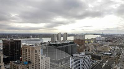 Detroit Condo/Townhouse For Sale: 1135 Shelby Street #2606
