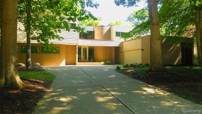 West Bloomfield Twp Single Family Home For Sale: 3749 Elder Road S