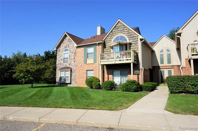 South Lyon MI Condo/Townhouse For Sale: $149,900