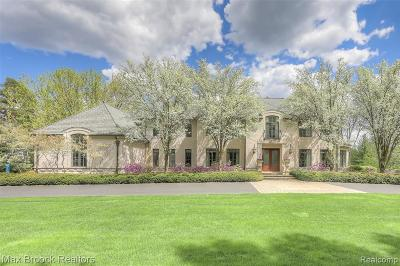 Bloomfield Hills Single Family Home For Sale: 372 Barden Road