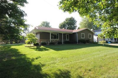 Single Family Home For Sale: 8384 Ridge Road