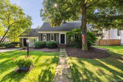 Birmingham Single Family Home For Sale: 543 Berwyn Street