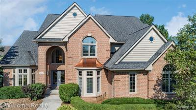 West Bloomfield Twp Single Family Home For Sale: 6914 Trailview Court