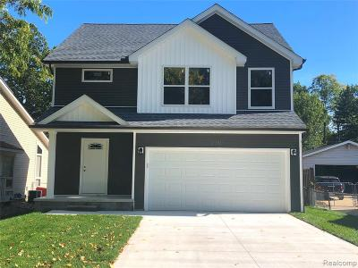 Waterford Single Family Home For Sale: 3959 Lawley Avenue