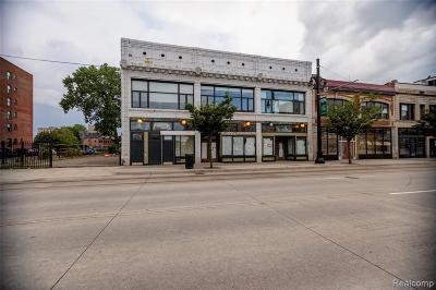 Detroit Condo/Townhouse For Sale: 3139 Woodward Avenue #2