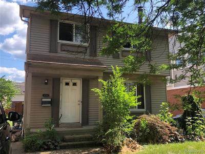 Birmingham Single Family Home For Sale: 1250 Emmons Avenue