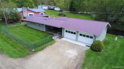 Single Family Home For Sale: 4375 West Drive