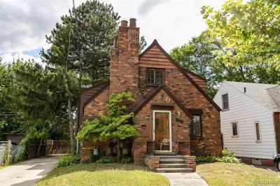 Detroit Single Family Home For Sale: 20530 Gardendale Street