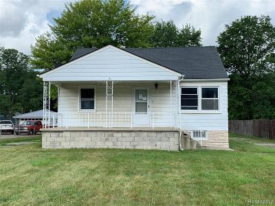 Huron Twp Single Family Home For Sale: 24386 Middlebelt Road