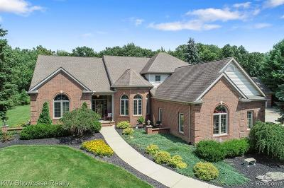 Commerce Twp Single Family Home For Sale: 5268 Oak Hill Trail