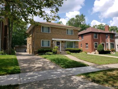 Detroit Single Family Home For Sale: 18275 Warrington Drive