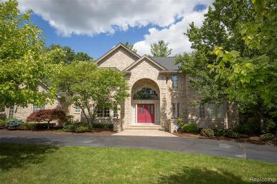 Oxford Single Family Home For Sale: 1487 Wood Trail
