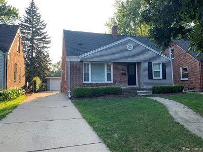 Royal Oak Single Family Home For Sale: 2941 N Wilson Avenue
