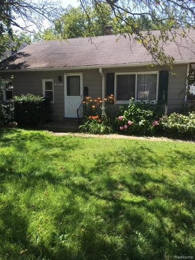Southfield Single Family Home For Sale: 28727 Brentwood Street