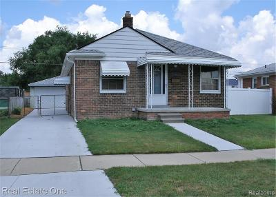 Lincoln Park Single Family Home For Sale: 2970 Ferris Avenue