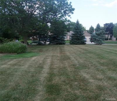 Macomb Twp Residential Lots & Land For Sale: 47437 Stephanie Drive