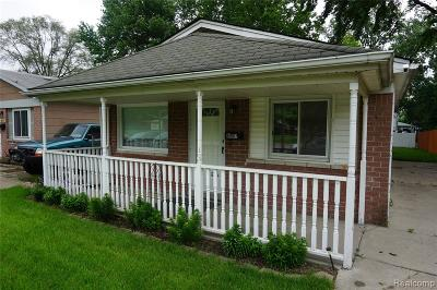 Taylor Single Family Home For Sale: 6057 Sylvia Street
