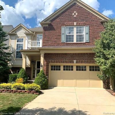 Novi Single Family Home For Sale: 44848 Stockton Drive