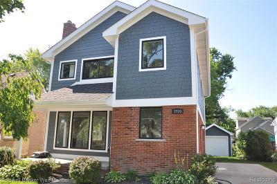 Birmingham Single Family Home For Sale: 2710 Buckingham Avenue