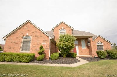 Sterling Heights Single Family Home For Sale: 5252 Waters Edge Court