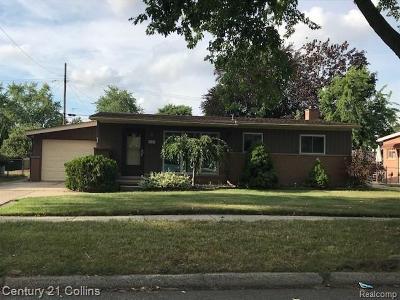 Warren Single Family Home For Sale: 4753 Buchanan Avenue