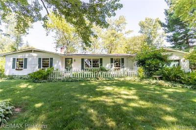 Hartland Twp Single Family Home For Sale: 10882 Hibner Road