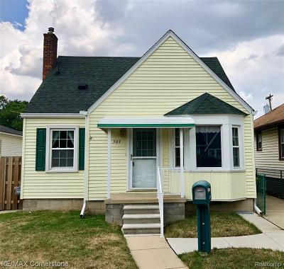 Wyandotte Single Family Home For Sale: 304 Highland Street