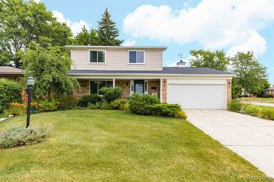 Sterling Heights Single Family Home For Sale: 34010 Foxboro Road