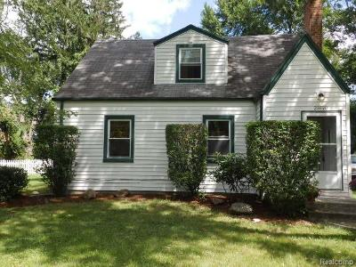Southfield Single Family Home For Sale: 23890 Norcrest Drive